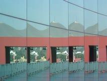 Mur de miroir Photographie stock
