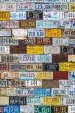 Mur de modèle de texture de fond de plaque minéralogique Photographie stock libre de droits
