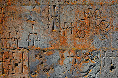 Mur de monastère photos stock