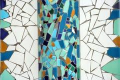 Mur de mosaïque Images libres de droits