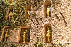 Mur de musée de Dali Images stock