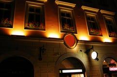 Mur de nuit Image libre de droits