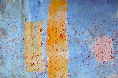 Mur de peinture Photographie stock