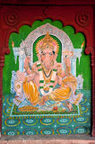 mur de peinture de jaisalmer de l'Inde photographie stock