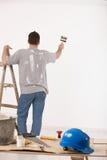 Mur de peinture de type Photographie stock libre de droits