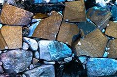 Mur de pierres Images libres de droits