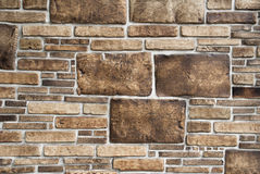 Mur de pierres décoratives Image libre de droits