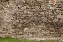 Mur de pierres de roche Photo stock