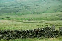 Mur de pierres sèches Images libres de droits