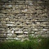 Mur de pierres sèches Photo libre de droits