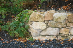 Mur de pierres sèches Image libre de droits