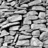 Mur de pierres sèches Photos stock