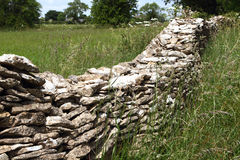 Mur de pierres sèches Images stock