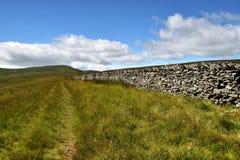 Mur de pierres sèches photo stock
