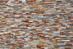 Mur de pierres sèches coloré Photo libre de droits