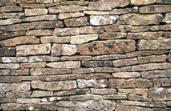 Mur de pierres sèches de Cotswold Image libre de droits