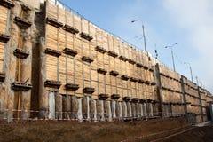 Mur de pile Photo libre de droits