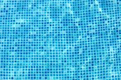 Mur de piscine Photos stock