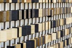 Mur de pixel de parc olympique de Londres Image stock