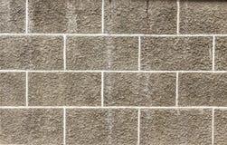 Mur de plâtre de ciment Images libres de droits
