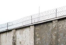 Mur de prison photographie stock