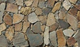 Mur de roche Image libre de droits