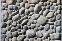 Mur de roche de fleuve Photos stock