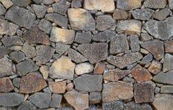 Mur de roche volcanique Images libres de droits