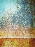 Mur de rouille de brûlure Photographie stock libre de droits
