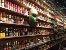 Mur de sauce chaude Photos libres de droits