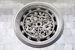 mur de sceau de dragon Photos stock