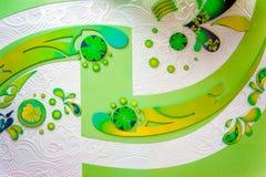 Mur de soulagement de fond de modèle de couleur Photos libres de droits