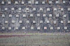 Mur de soutènement Photo libre de droits