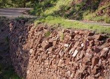 Mur de soutien Images stock