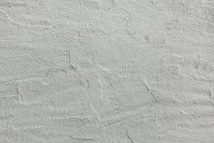 Mur de stuc peint par blanc Texture de fond Image libre de droits