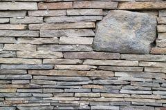 Mur de texture en pierre grise Images stock