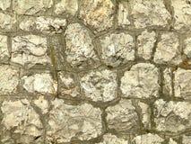 Mur de trottoir de bloc Image libre de droits