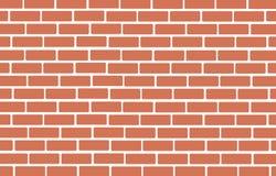 Mur de vecteur d'art de fond de briques illustration libre de droits