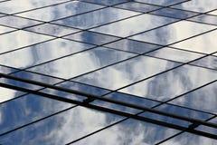 Mur de verre Photos libres de droits