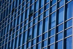 Mur de verre extérieur d'architecture Image stock