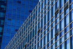 Mur de verre extérieur d'architecture Images libres de droits