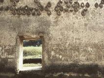 Mur de vieux temple Image stock