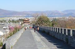 Mur de ville antique de Dali Photos libres de droits