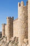 Mur de ville d'Avila, Espagne Photos stock