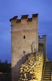 Mur de ville dans Bardejov slovakia Image stock