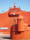 Mur de ville dans Diu/Inde Photographie stock libre de droits