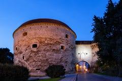 Mur de ville de Tallinn Images libres de droits