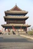 Mur de ville de Xian Photo libre de droits