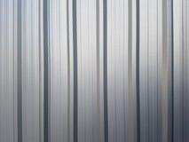 Mur de zinc dans le chantier de construction Image libre de droits