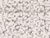 Mur des boîtes Image stock